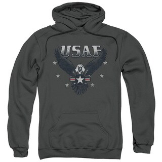 Air Force/Incoming Adult Charcoal Pull-over Hoodie