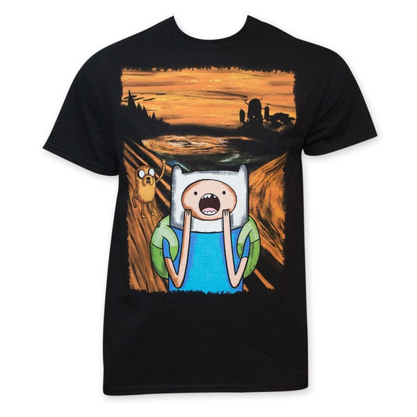 'Adventure Time' Screaming Tee Shirt
