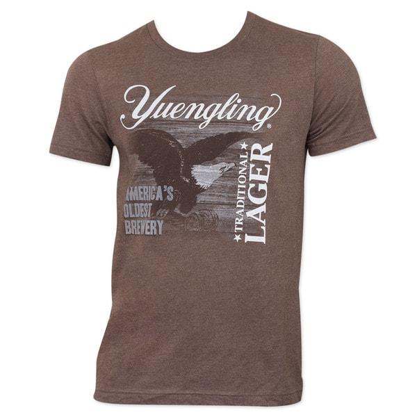 Yuengling Men's Brown Eagle T-shirt
