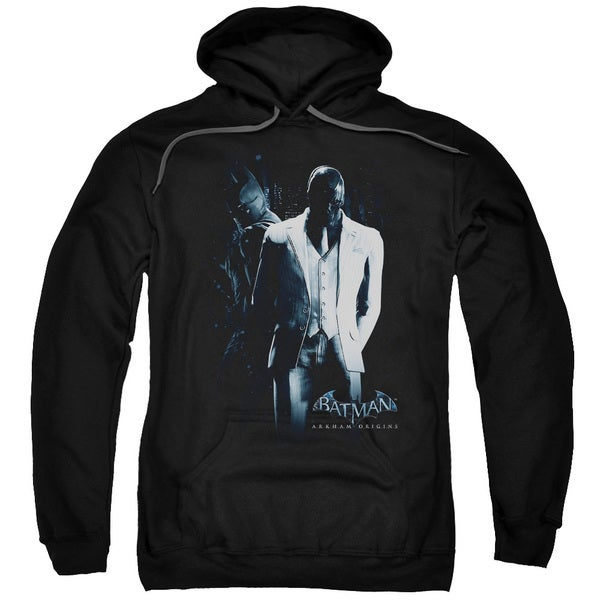 Batman Arkham Origins/Black Mask Black Adult Pullover Hoodie 18645021