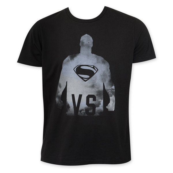 Junk Food Men's Batman v Superman VS Black Cotton T-Shirt