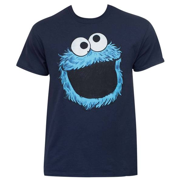 Sesame Street Blue Cotton Cookie Monster T-shirt