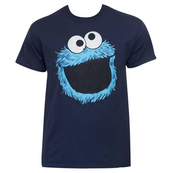 Sesame Street Blue Cotton Cookie Monster T-shirt