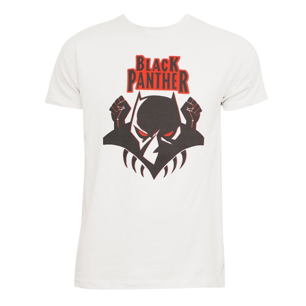 Black Panther Off White Tee Shirt
