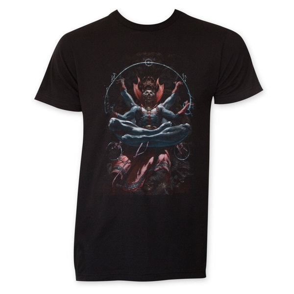 Dr. Strange Men's Levitation Black T-shirt