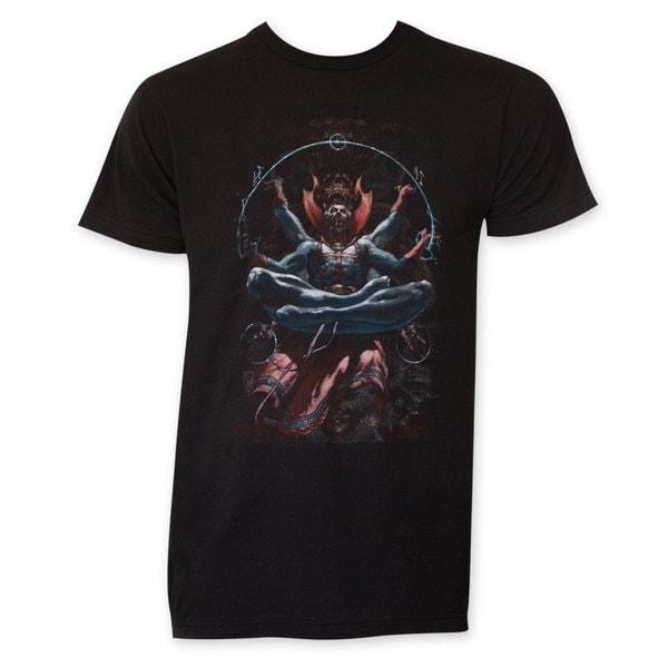 Dr. Strange Men's Levitation Black T-shirt