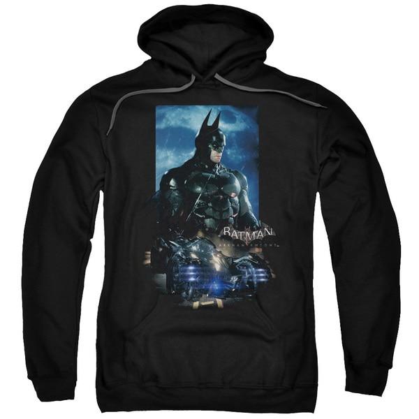 'Batman Arkham Knight' Adult Batmobile Black Cotton/Polyester Pullover Hoodie 18645436