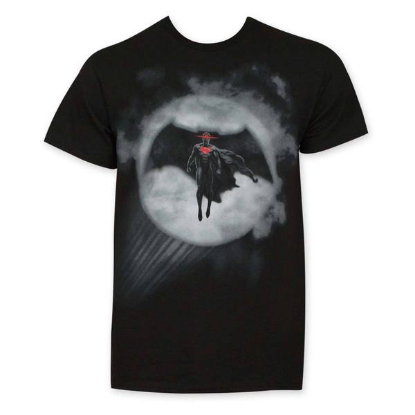 Batman V Superman Batman In Bat Signal T-shirt