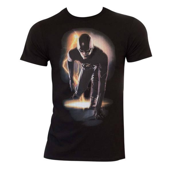 Adult Black Cotton Flash T-shirt