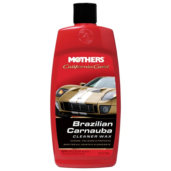 Mothers 05701 16 Oz Carnauba Cleaner Wax