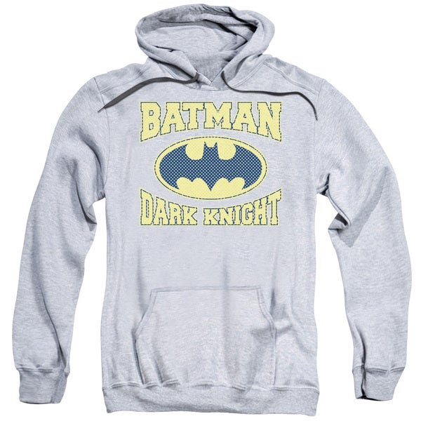 Batman/Dark Knight Adult Men's Grey Jersey Pullover Hoodie
