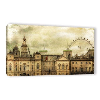 Richard James's 'Eye On Horse Guards' Gallery Wrapped Canvas