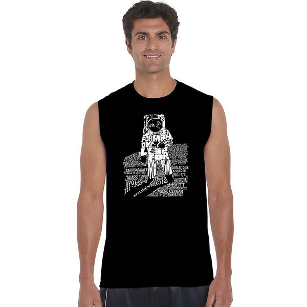 Men's Astronaut Sleeveless T-shirt