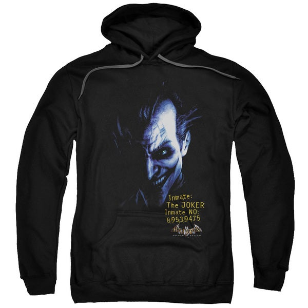 Black Batman Joker Adult Pullover Hoodie