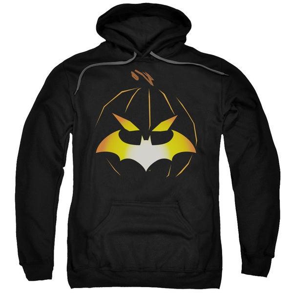 Batman/Jack O'Bat Adult Pullover Hoodie in Black