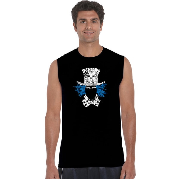 The Mad Hatter Men's Sleeveless T-shirt