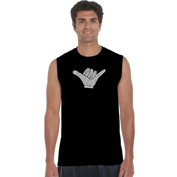 Men's Cotton Sleeveless Worldwide Surfing Spots T-shirt