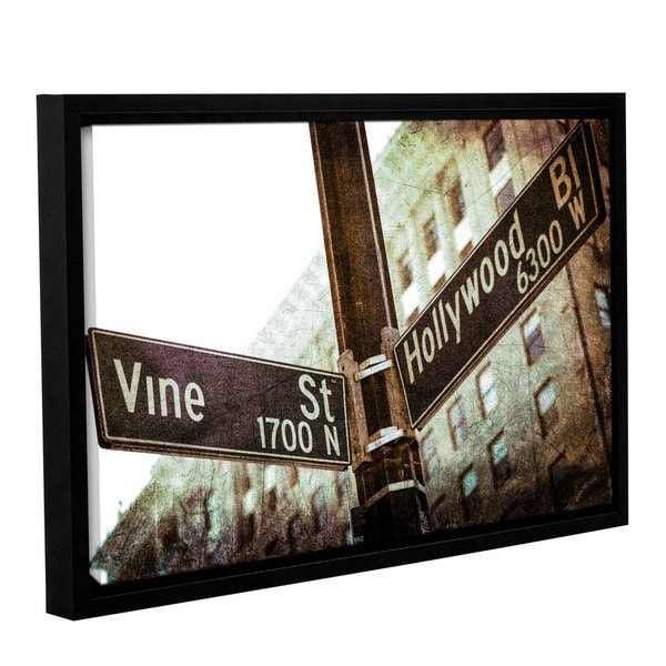 Richard James's 'Hollywood Vine' Gallery Wrapped Floater-framed Canvas