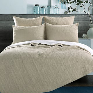 Greenland Home Fashions Fairfax Cotton Quilted 3-piece Coverlet Set