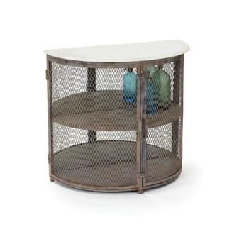 Hip Vintage Chelsea Steel Rustic Cabinet