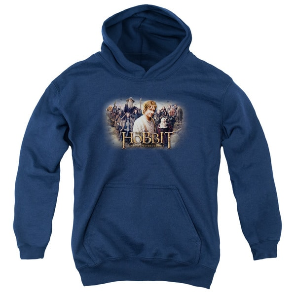 Navy The Hobbit/Hobbit Rally Youth Pullover Hoodie