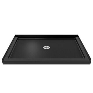 DreamLine SlimLine 34 x 42-inch Single Threshold Black Shower Base