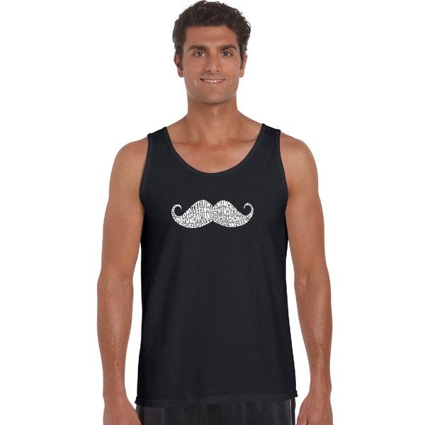 Men's 'Ways To Style a Moustache' Tank Top