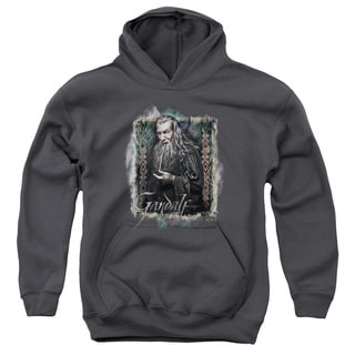 The Hobbit/Gandalf Youth Pull-Over Hoodie in Charcoal