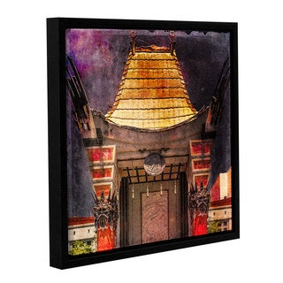 Richard James's 'Chinese Theater' Gallery Wrapped Floater-framed Canvas