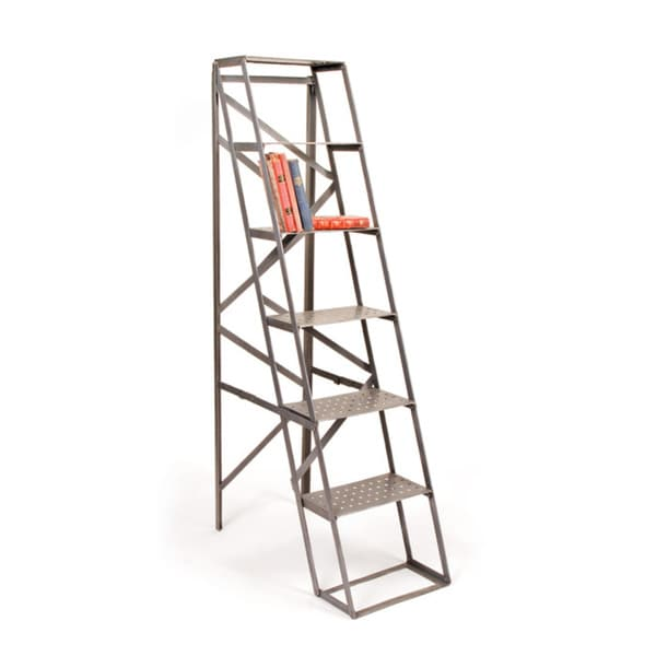 Hip Vintage Metallic Iron Mill Ladder