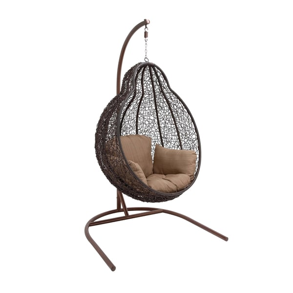 The Beautiful Metal Rattan Swing