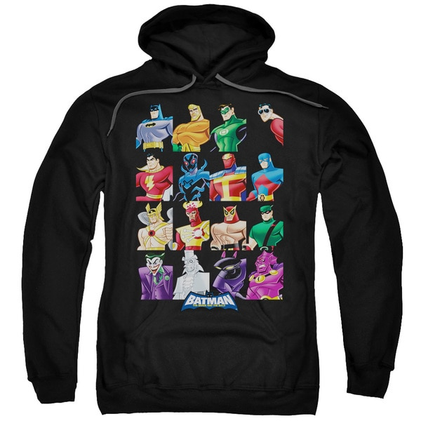 Batman BB/Cast Of Characters Adult Black Pullover Hoodie