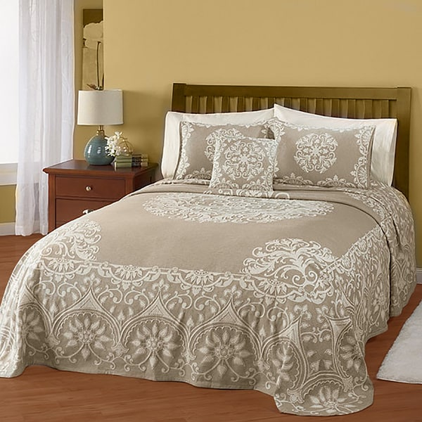 Ambiance Cotton Jacquard Bedspread