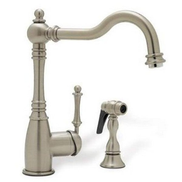 Blanco Grace Satin Nickel Side Spray Kitchen Faucet