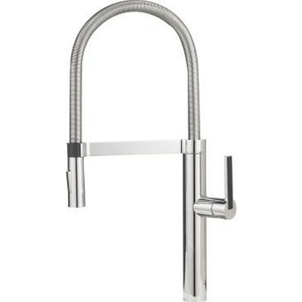Blanco Culina Semi-Pro Chrome Single-handle Kitchen Faucet