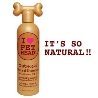 Pet Head Oatmeal Natural Dog Shampoo 12oz