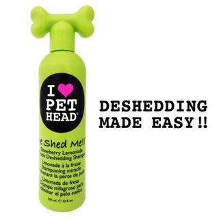 Pet Head Deshed Me Miracle Deshedding Dog Shampoo Strawberry Lemonade 12oz