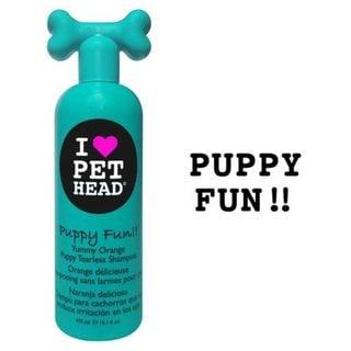 Pet Head Puppy Fun Tearless Dog Shampoo Yummy Orange 16oz