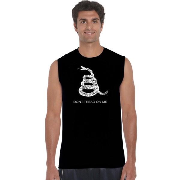Men's Sleeveless Don't Tread on Me T-shirt