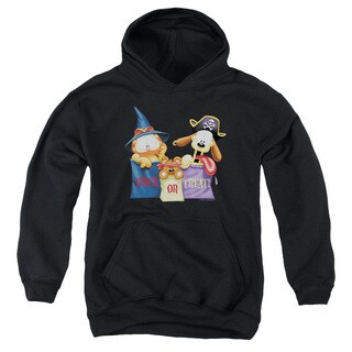 Youth's Black Oriental Peshawar Garfield/Grab Bags Pull-over Hoodie