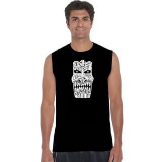 Men's Cotton Sleeveless Tiki Big Kahuna T-shirt