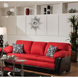 Sofa Trendz Maridelsa Red Sofa