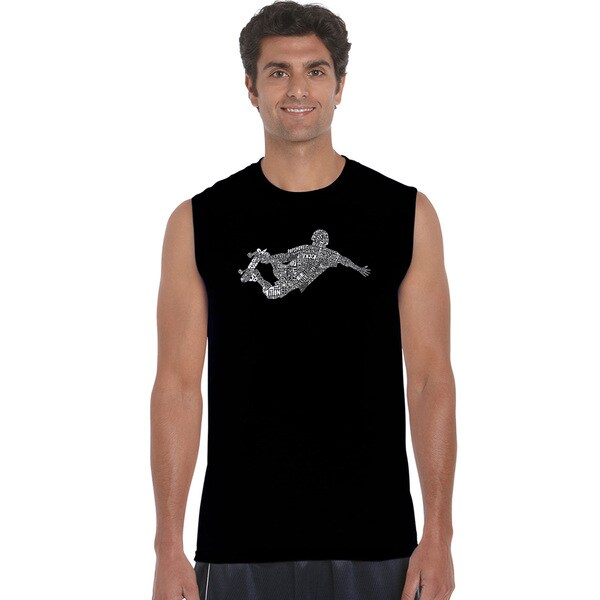 Men's Popular Skating Moves and Tricks Sleeveless T-shirt