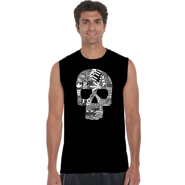 Men's Sex, Drugs, Rock and Roll Sleeveless T-shirt 18660491