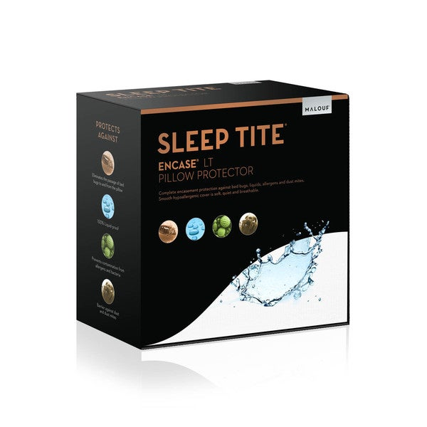 SLEEP TITE ENCASE LT Bed Bug Proof Waterproof Pillow Protector (Set of 2)