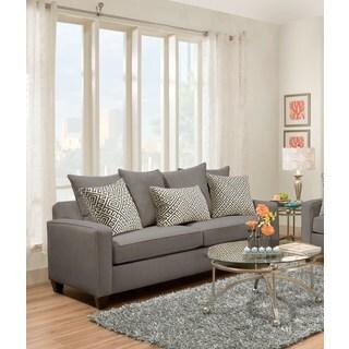 Better Living Convert a Couch Sofa Sleeper in Tan Grey Linen Overstock Shopping
