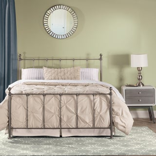Hillsdale Furniture Molly Silver Metal Queen Bed
