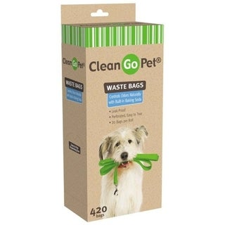 Clean Go Pet 21-pack of Black Replacement Waste Bags