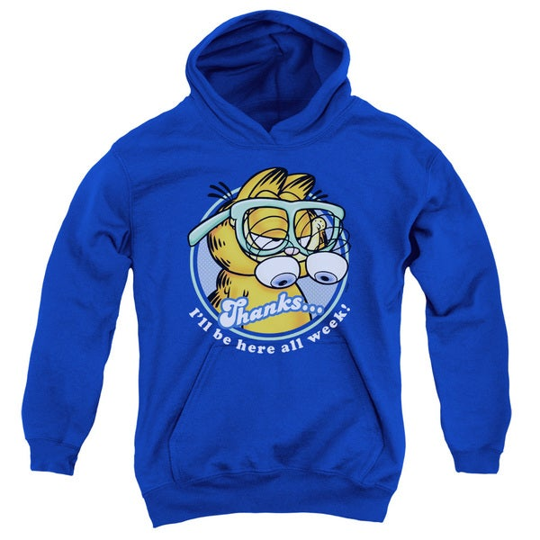 Garfield/Performing Royal Blue Youth Pullover Hoodie