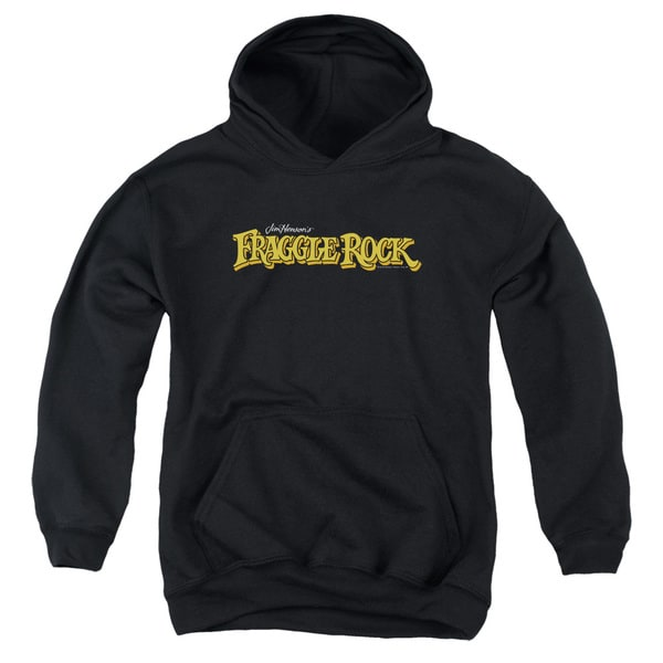 Youth Fraggle Rock/Logo Black Pullover Hoodie